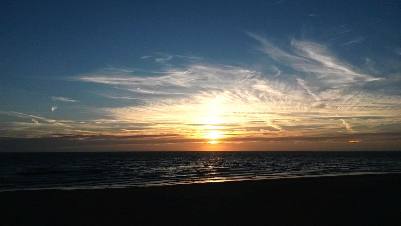 Julianadorp Sonnenuntergang