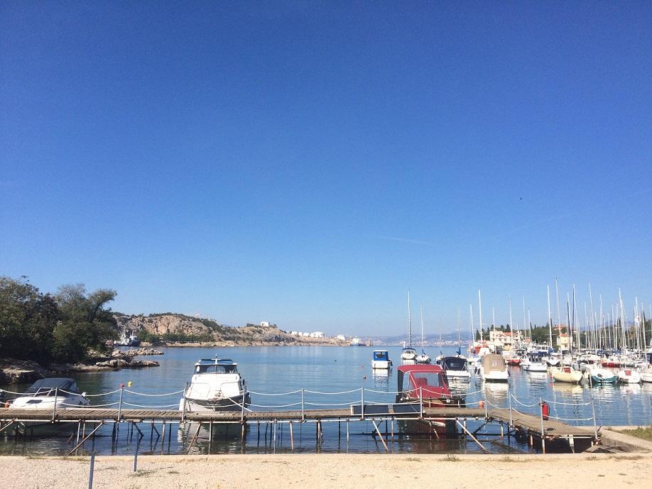 Hafen Omisalj Krk