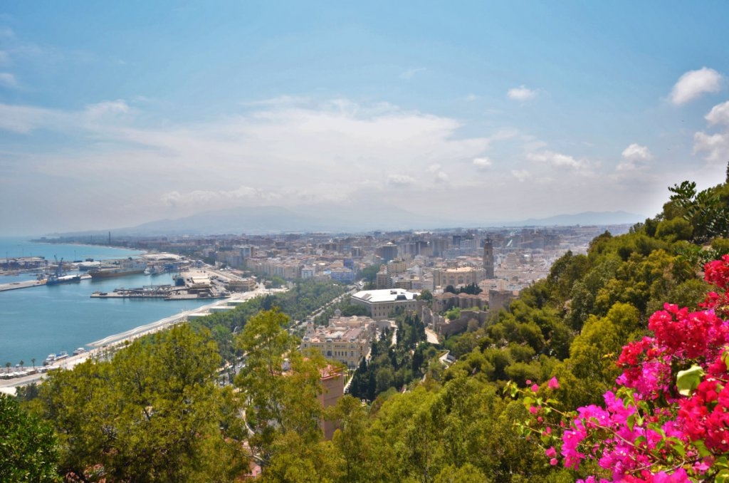 Malaga Aussichtspunkt