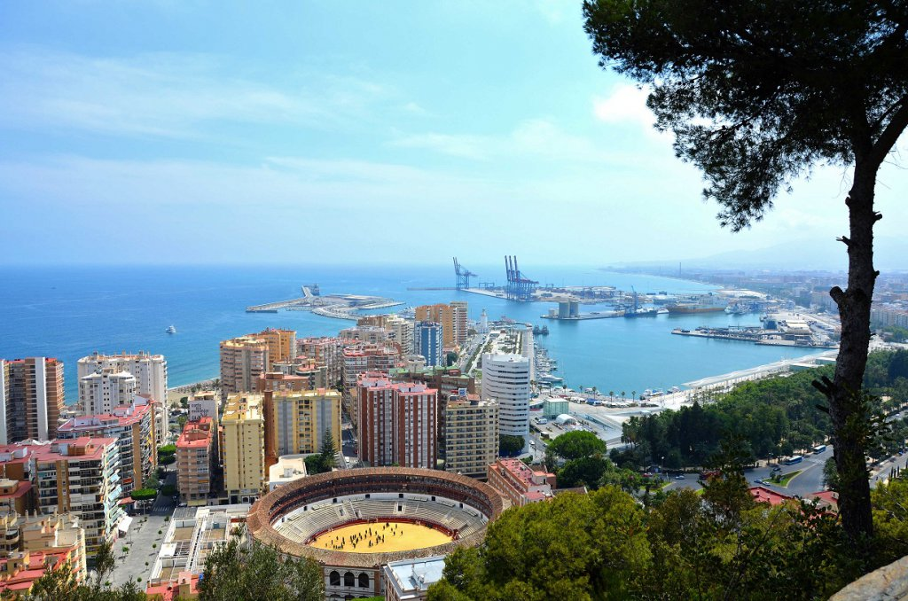 Malaga Aussicht