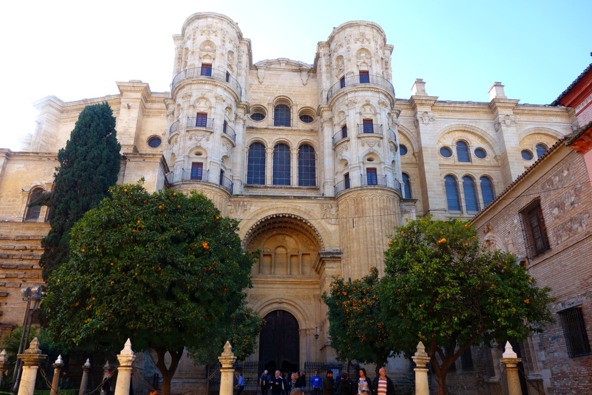 Malaga Kathedrale