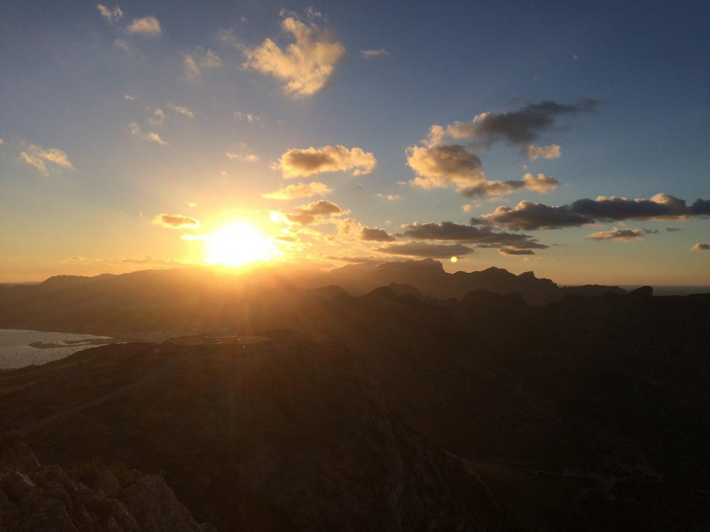 Cap Formentor Sonnenuntergang