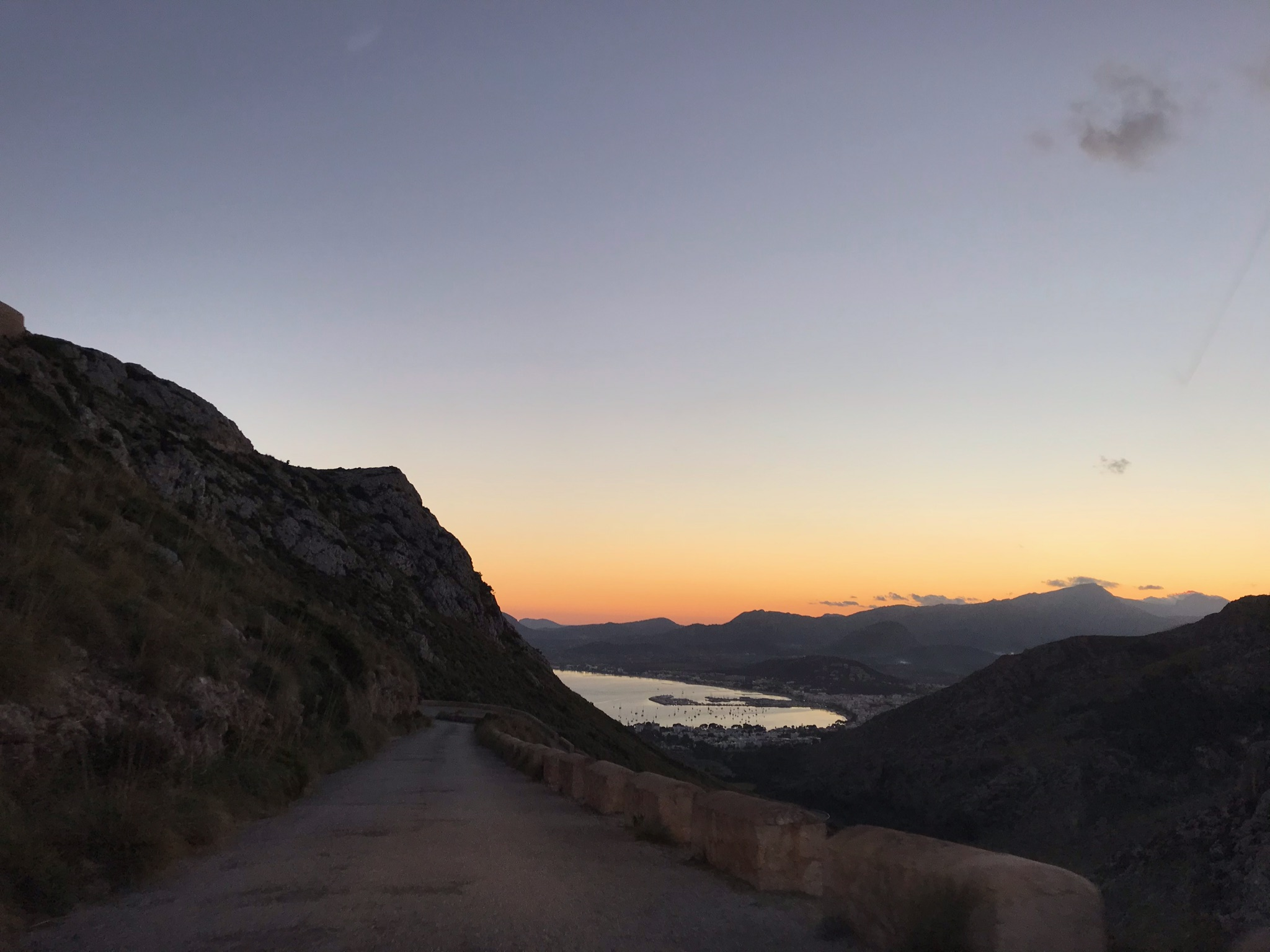 Weg nach Alcudia