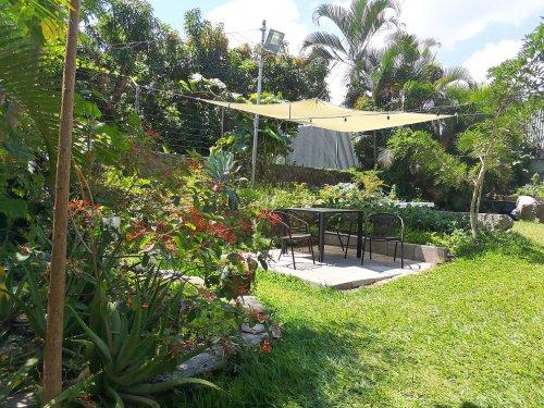 San Salvador Hotelgarten