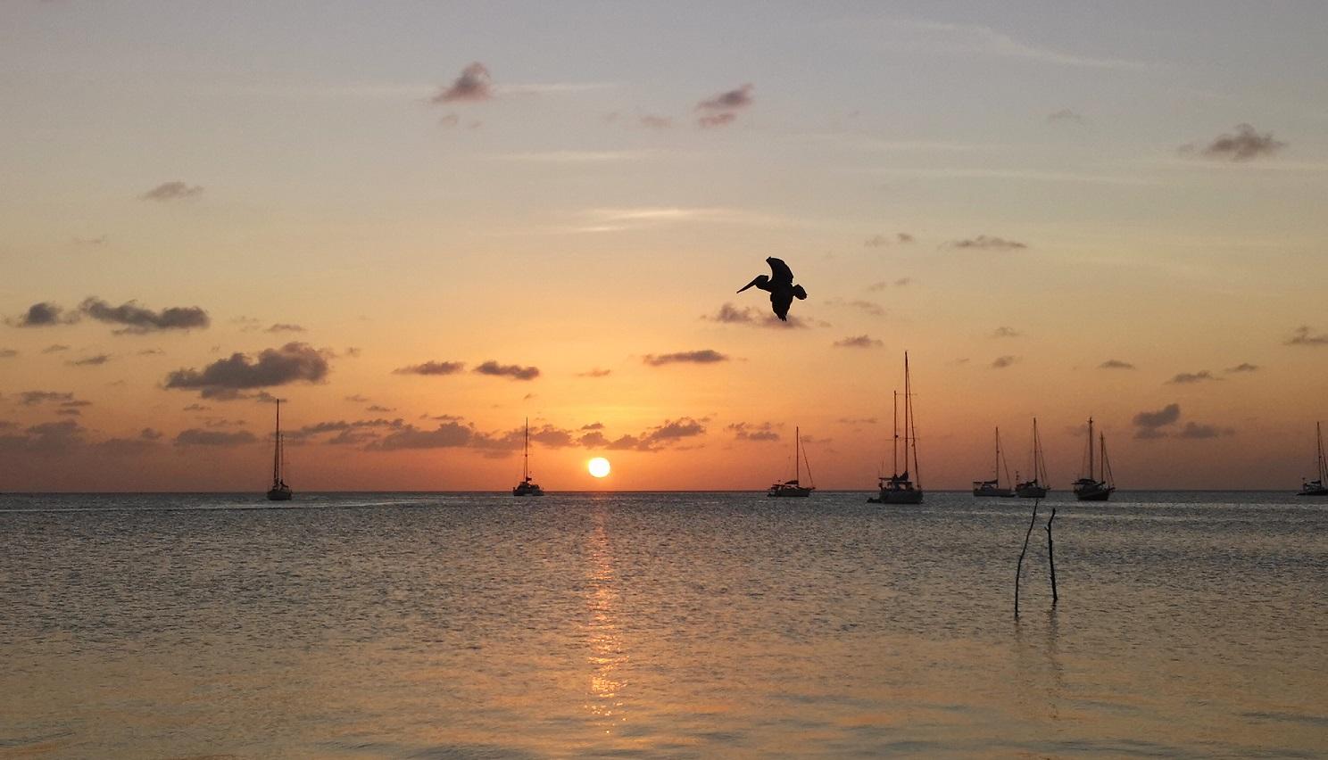 Caye Caulker Sonnenuntergang