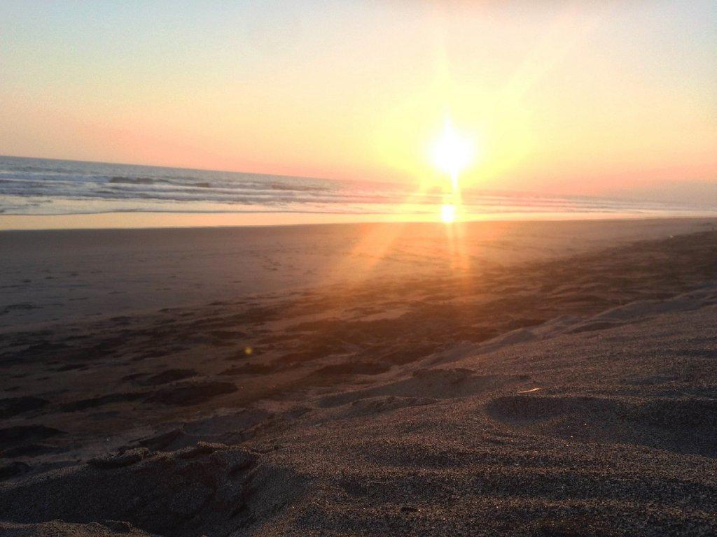 El Salvador Sonnenuntergang