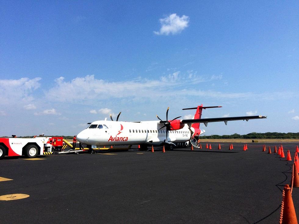 Belize Flugzeug Parkposition