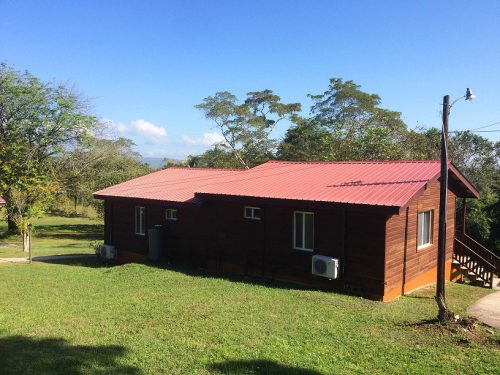 Belize San Ignacio Hütte