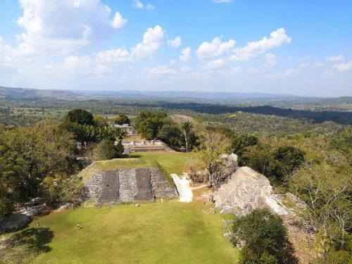 Belize Maya Ruinen