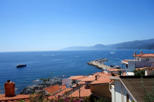 Sardinien Cala Gonone Hafen