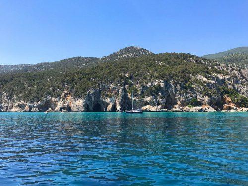 Sardinien Golf von Orosei Boot
