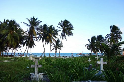 Caye Caulker Friedhof