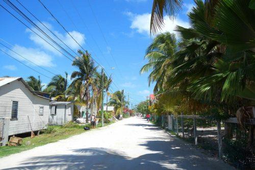 Caye Caulker Straße
