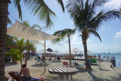 Caye Caulker Strand Iguana Reef Inn