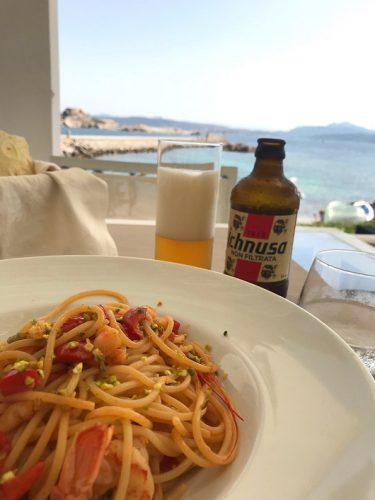 Sardinien Essen Ausblick