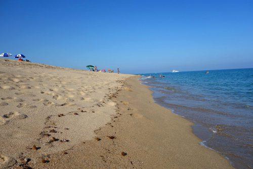 Sardinien Spiaggia di Su Barone Strand