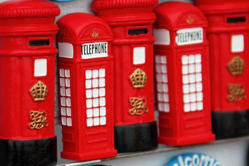 Souvenir Londoner Telefonzelle