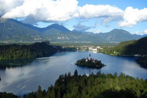 Bleder See Aussichtspunkt Osojnica