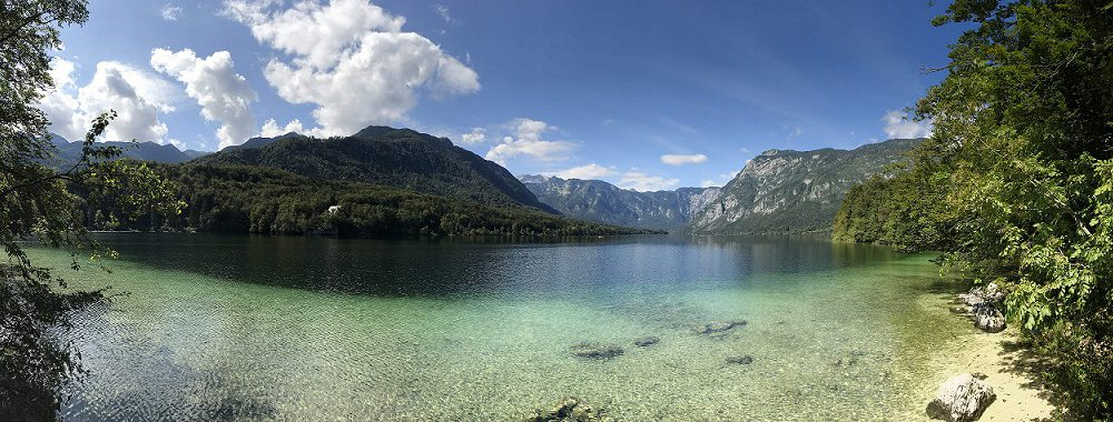 Bohinj See Slowenien