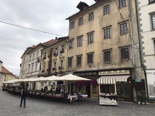 Gassen in Ljubljana