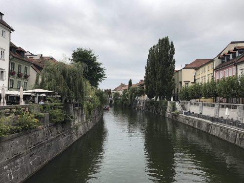 Ljubljana Fluss
