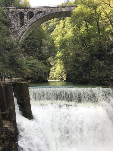 Wasserfall Vintgar Klamm