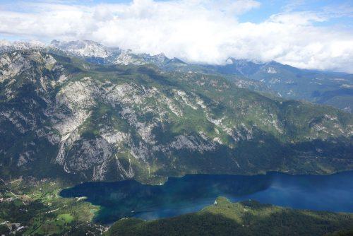 Vogel Skilift Aussicht Bohinj See