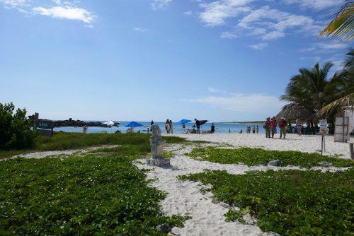 Cozumel Tipps Öffentlicher Strand