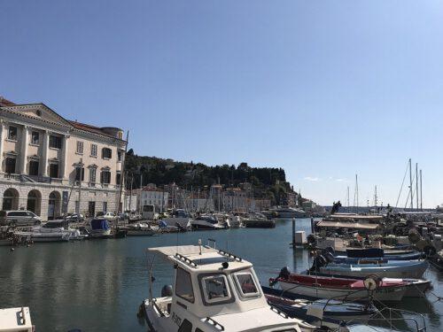 Piran Hafen