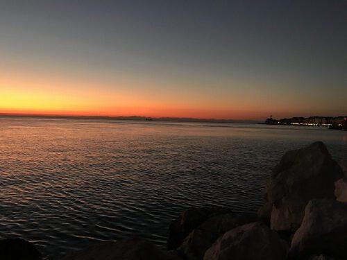 Piran Sonnenuntergang Italien
