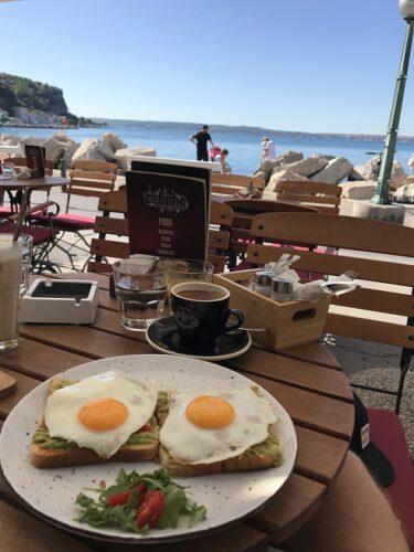 Piran Frühstück