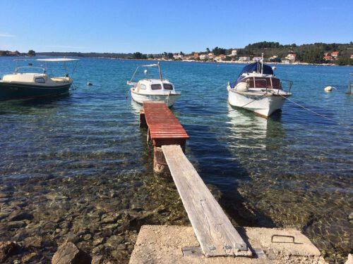 Korcula Fuza Strand Boote