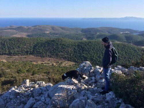 Korcula Wandern mit Hund