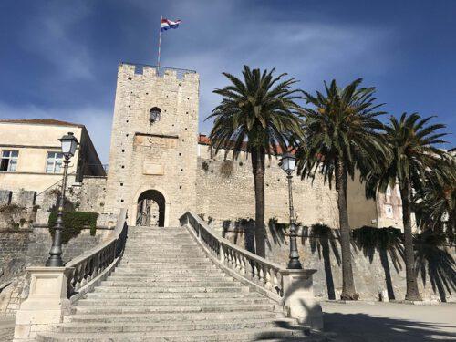 Korcula Stadtmauer