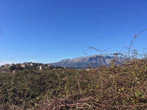 Lumbarda Korcula Berge