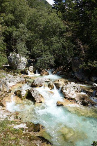 Soca Wasserfall