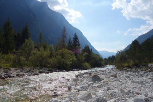 Wandern Soca-Tal