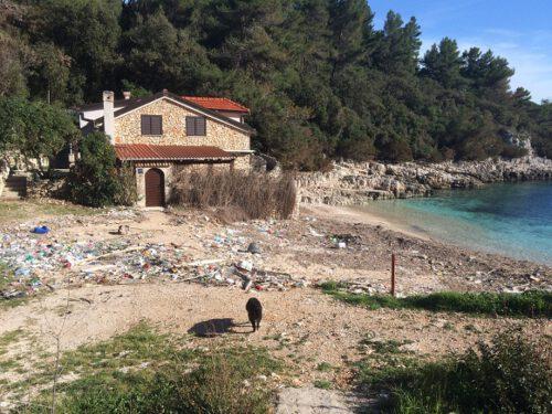 Zitna Strand Müll