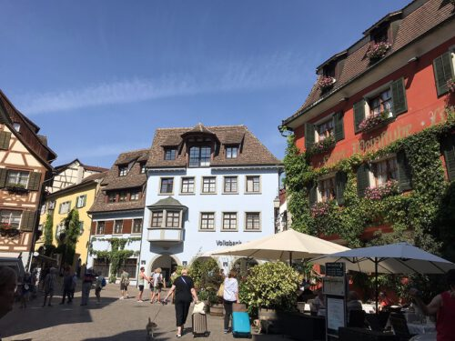 Meersburg Häuser