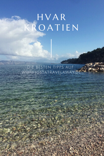 Hvar Kroatien Pinterest