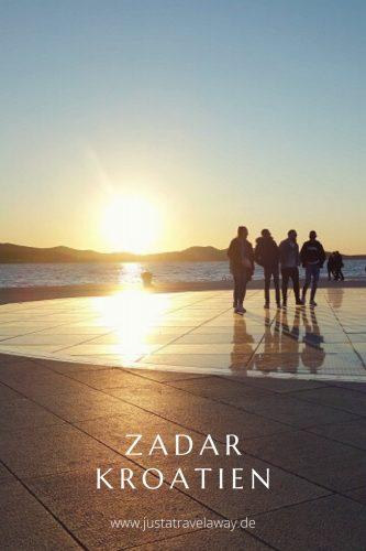 Zadar Kroatien Sehenswürdigkeiten Pinterest