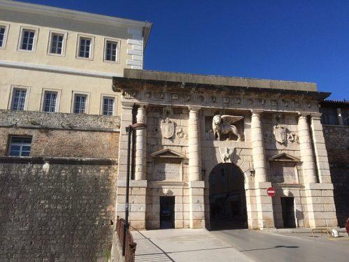 Zadar Altstadt Stadttore