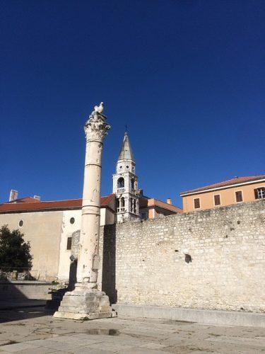 Zadar Altstadt Sehenswürdigkeiten Schandsäule