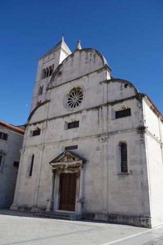 Zadar Sehenswürdigkeiten Altstadt Kloster Heilige Maria