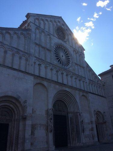 Zadar Sehenswürdigkeiten Altstadt Kathedrale